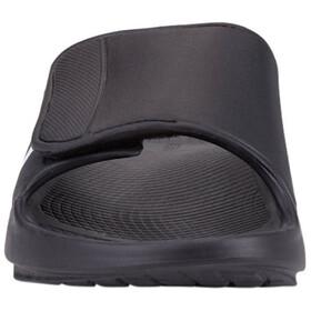 OOFOS Ooahh Sport Flex Sandals, negro